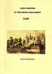 Book Cover: JOHN HAMPDEN IN THE SHORT PARLIAMENT - 1640