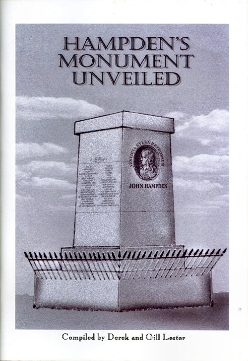Book Cover: HAMPDEN'S MONUMENT UNVEILED
