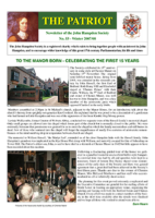 "No. 53 – Winter 2007/8 – ""Unveiling of battlefield trails"" supplement"