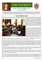 "No. 54 – Spring 2008 – with ""thoughts of the Vice-Chair"" supplement"