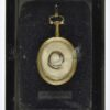 Our latest acquisition: A locket containing a lock of John Hampden's Hair