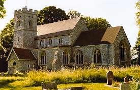 Great Hampden church