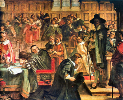 Charles I attempts to arrest the Five Members in the House of Commons