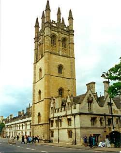 Magdalen College today
