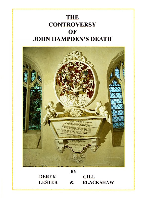 Book Cover: THE CONTROVERSY OF JOHN HAMPDEN'S DEATH