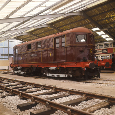 """John Hampden"" Electric Locomotive No. 5"