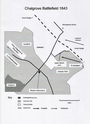 chalgrove-battlefield-map